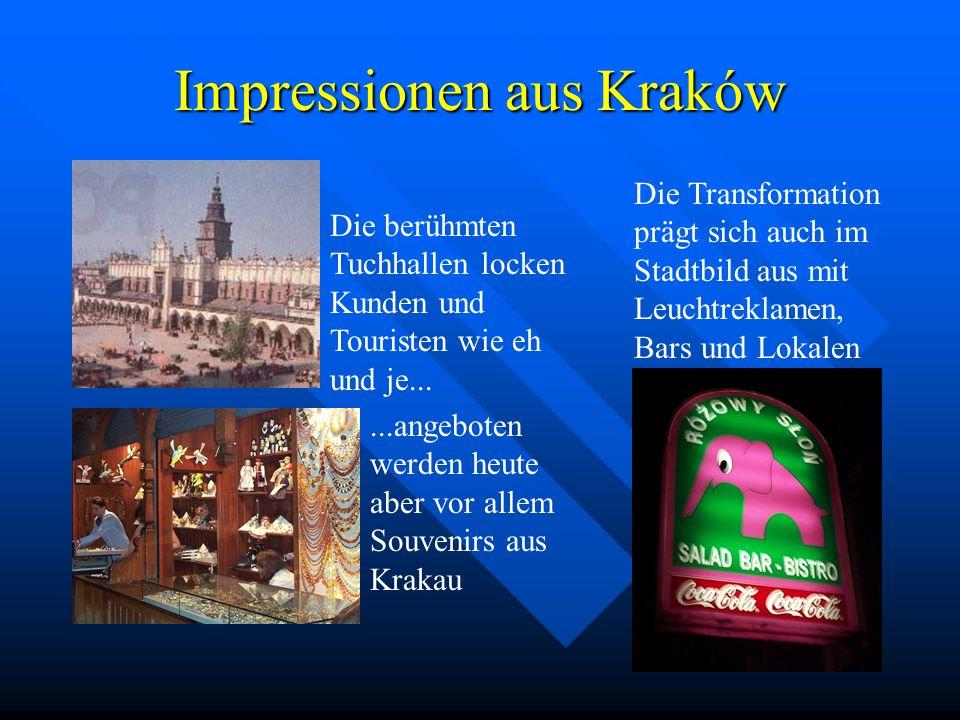 Polen, Kraków, Galizien: ein alter Kulturraum in Mitteleuropa Der Erdkunde-Leistungs- kurs in der Klassenstufe 13 (Lehrer: OStR Gerhard Voigt) schließ