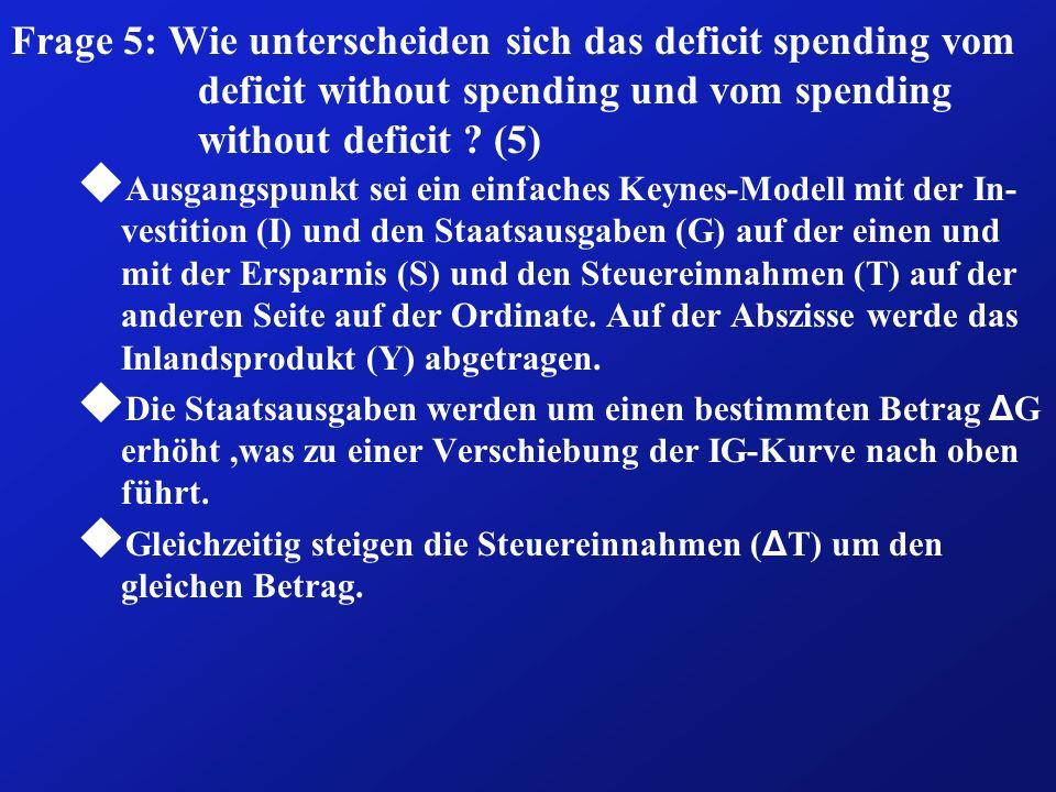 Fazit: (6b) ð Die Entscheidung zugunsten der einen oder der anderen Finan- zierungsart hängt wiederum von der Beantwortung der Frage ab, in welcher Weise diese Instrumente als effizient gelten können, ð wie sich diese einzelnen Finanzierungsarten politisch durchsetzen lassen (ob z.B.