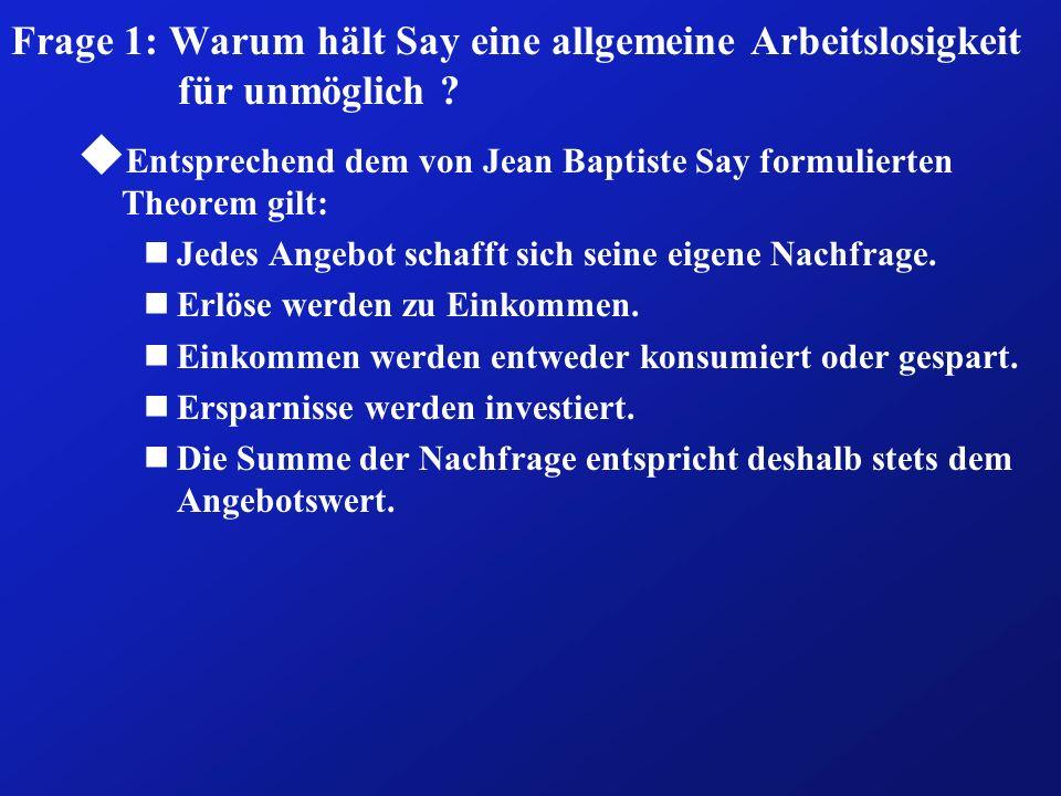 Kapitel V: Die theoretischen Grundlagen der Beschäfti- gungspolitik 01.