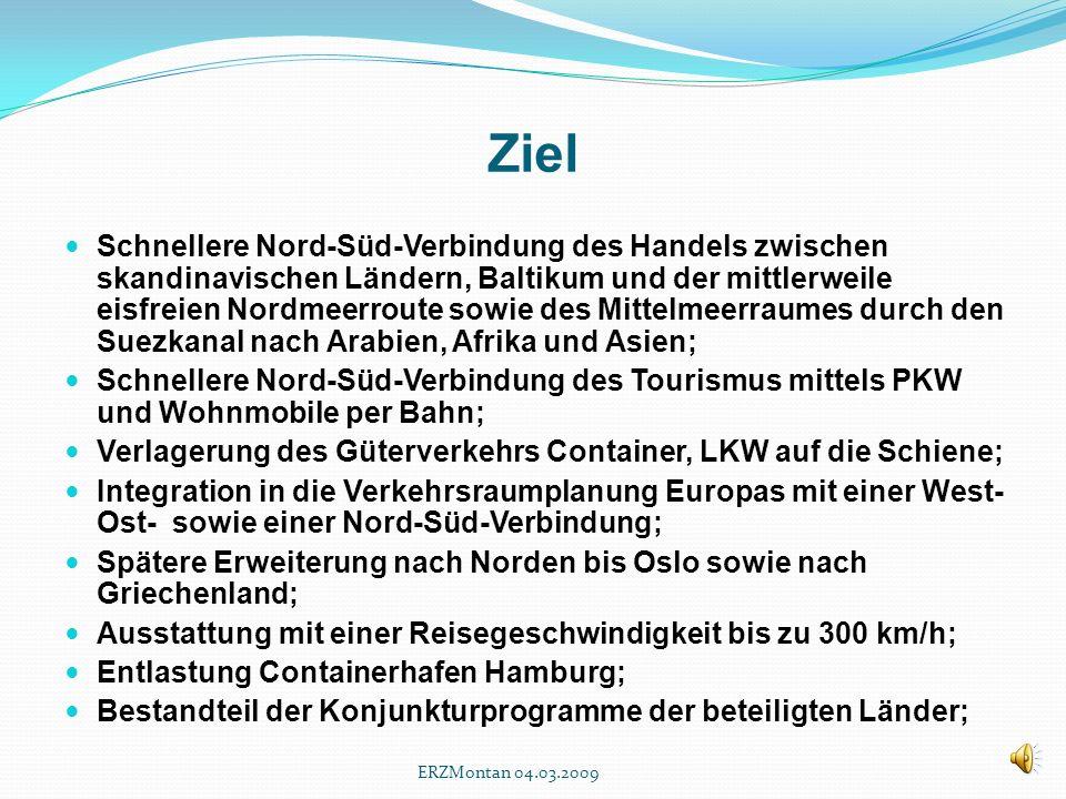 Vision der Zukunft und Vernunft der Gegenwart ein Europa-Projekt ERZMontan 04.03.2009