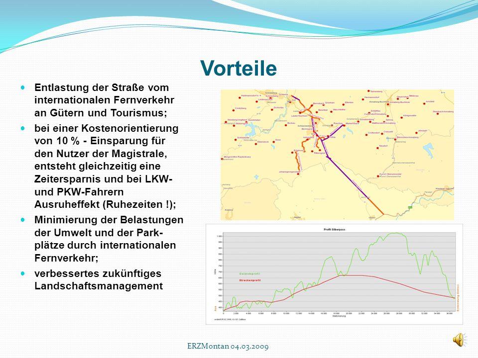 Verkehrsaufkommen Strategische Transportnetzwerke notwendig; Verbesserung der Logistik; Transportoptimierung über mehrere Verkehrsträger hinweg; Optim