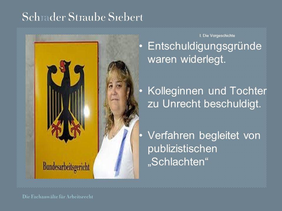 II.Das Urteil BAG, Urteil vom 10.06.2010 – 2 AZR 541/09 Es gibt keine absoluten Kündigungsgründe.