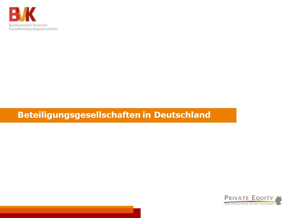VC-Meeting // Frankfurt a.M., 16.6.2010 // Seite 4 Beteiligungsgesellschaften in Deutschland