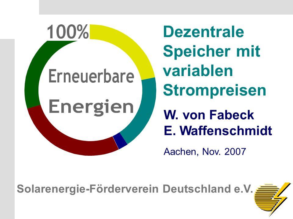 Solarenergie-Förderverein Deutschland e.V. S.1 W.