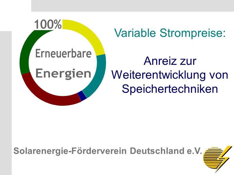 Solarenergie-Förderverein Deutschland e.V. S.7 Solarenergie-Förderverein Deutschland e.V.