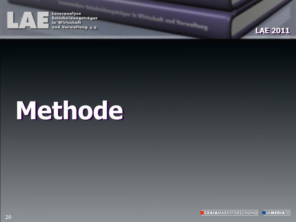 LAE 2011 20 Methode