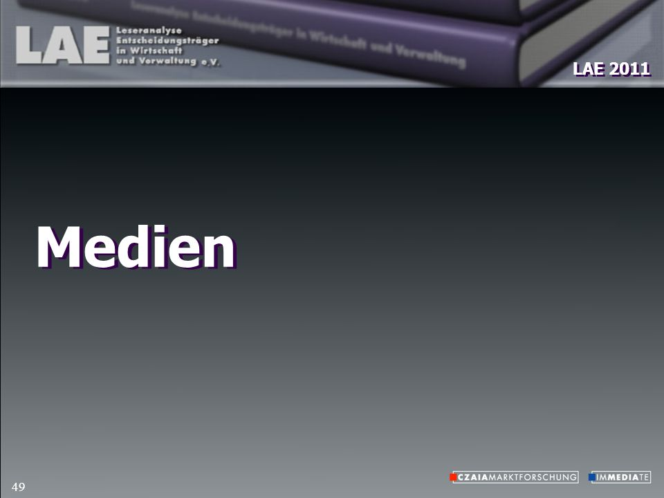 LAE 2011 49 Medien