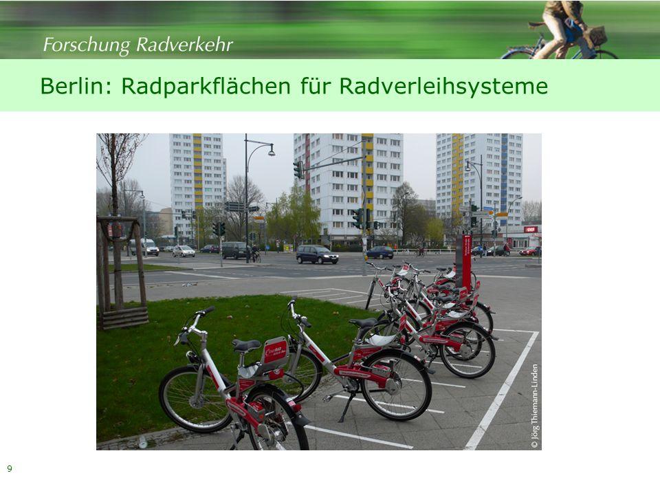 Berlin: Radparkflächen für Radverleihsysteme 9