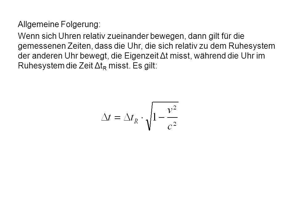 Die Formel lautet demnach: