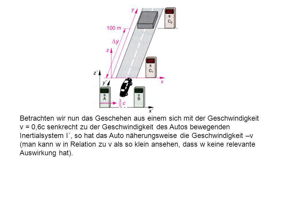 Das Auto hat die Masse m = 1000kg. Daraus ergibt sich für den Impuls des Autos das Produkt aus dessen Masse m und dessen Geschwindigkeit w: