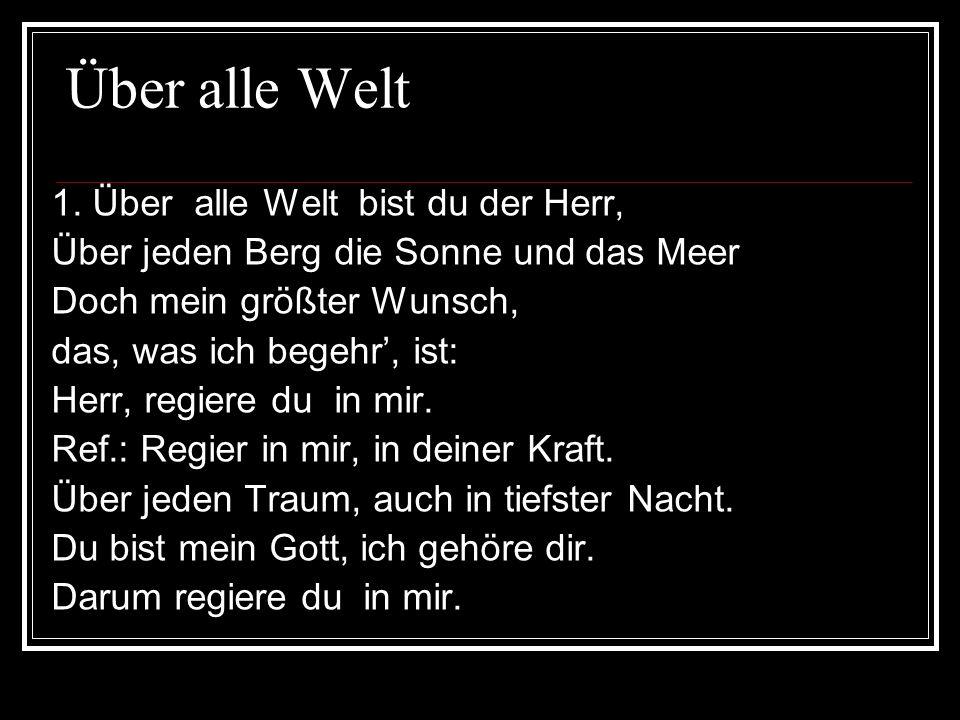 Über alle Welt 2.