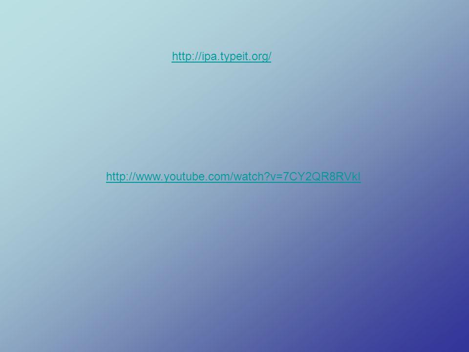 http://ipa.typeit.org/ http://www.youtube.com/watch?v=7CY2QR8RVkI