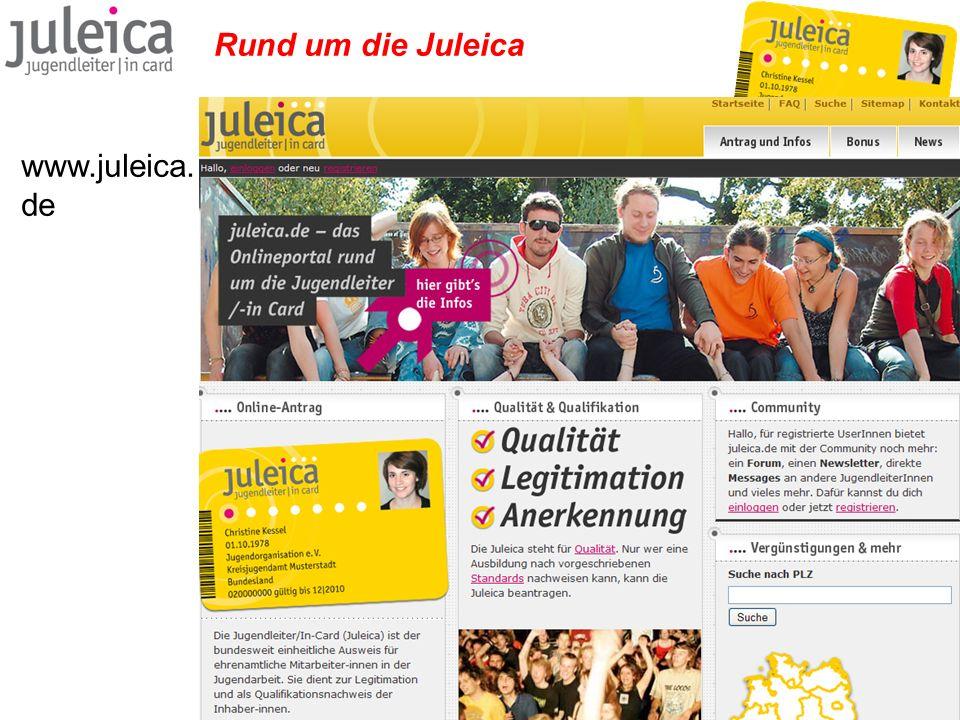 www.juleica. de Rund um die Juleica