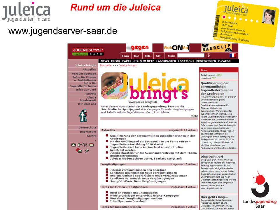 Rund um die Juleica www.jugendserver-saar.de