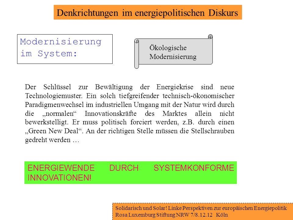 Solidarisch und Solar.