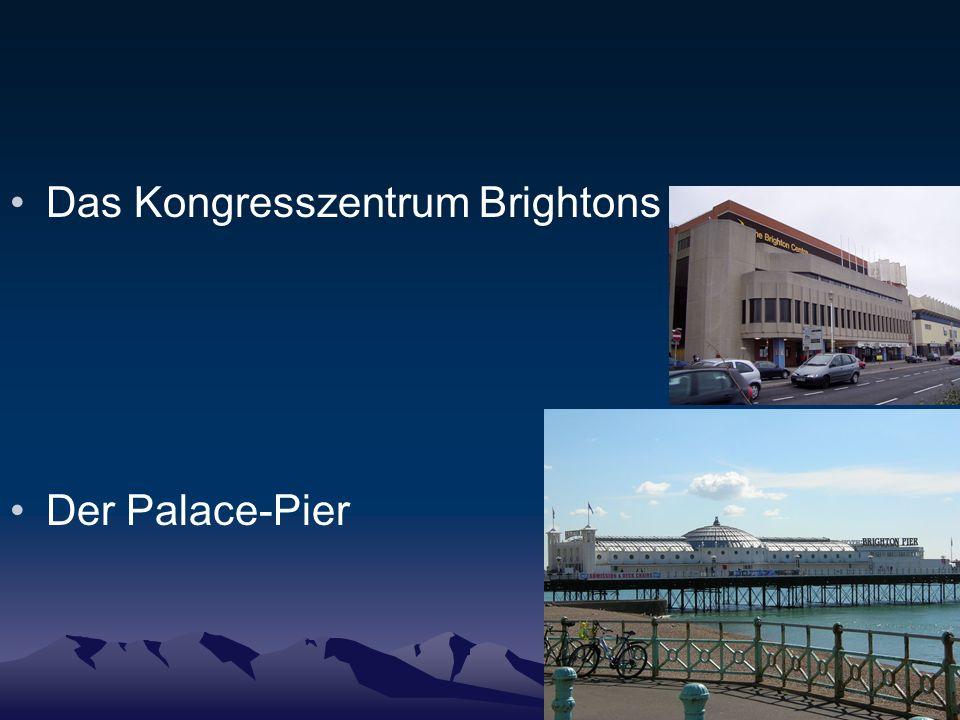 Das Kongresszentrum Brightons Der Palace-Pier