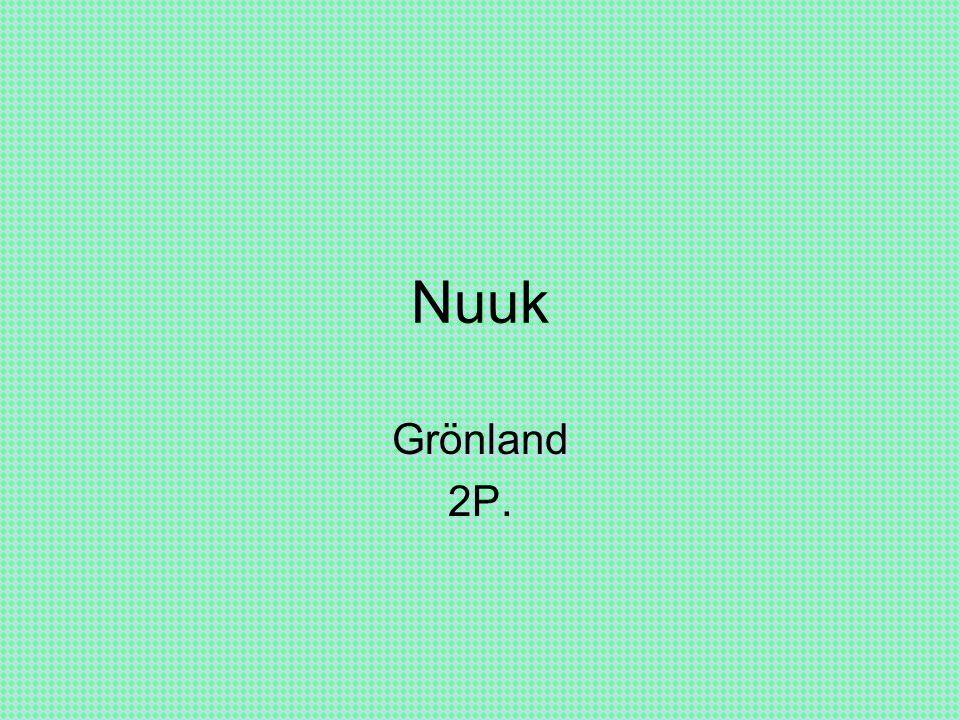 Nuuk Grönland 2P.