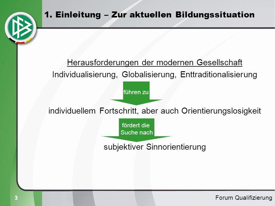3 Herausforderungen der modernen Gesellschaft Individualisierung, Globalisierung, Enttraditionalisierung individuellem Fortschritt, aber auch Orientie