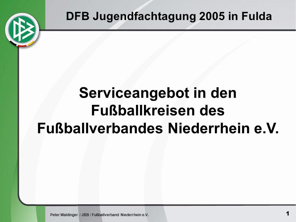 1 Peter Waldinger / JBB / Fußballverband Niederrhein e.V.