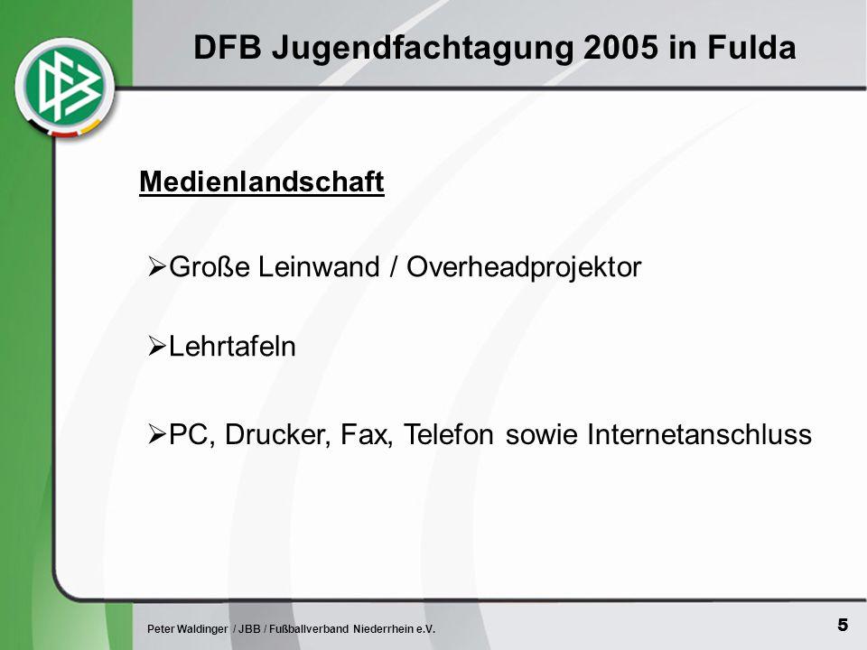 6 Peter Waldinger / JBB / Fußballverband Niederrhein e.V.