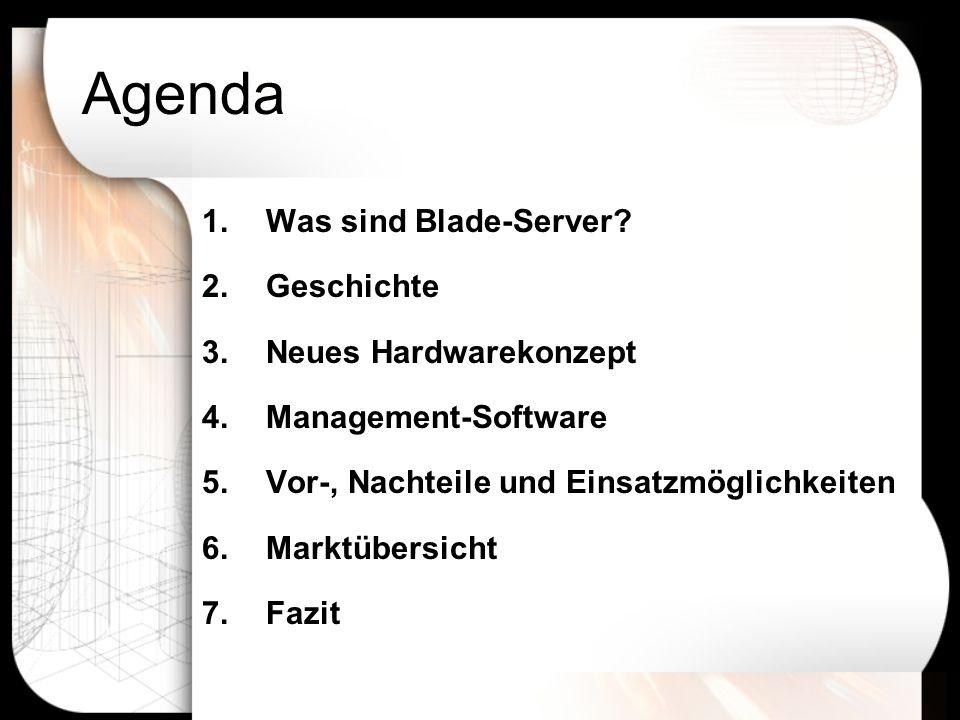 1.Was sind Blade-Server.