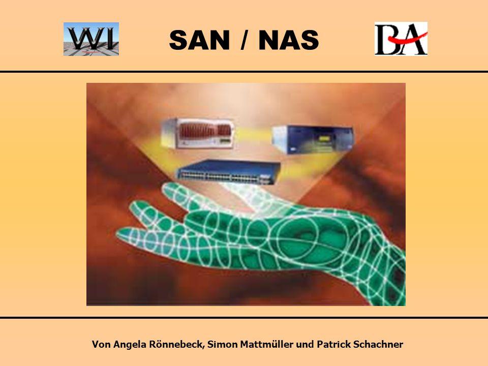 SAN / NAS Von Angela Rönnebeck, Simon Mattmüller und Patrick Schachner