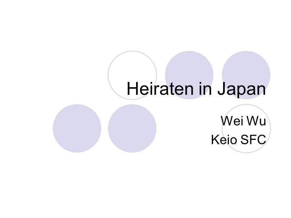 Gliederung -Was für eine Hochzeit in Japan.-Was ist HIROEN.