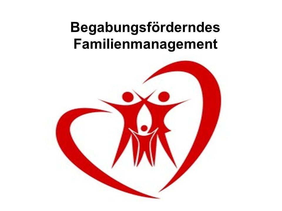 Begabungsförderndes Familienmanagement Verwende dein Engagement darauf, Zuständigkeiten klar zu definieren – im Zweifel führt der operativ das aus, der als Spezialist anerkannt ist.
