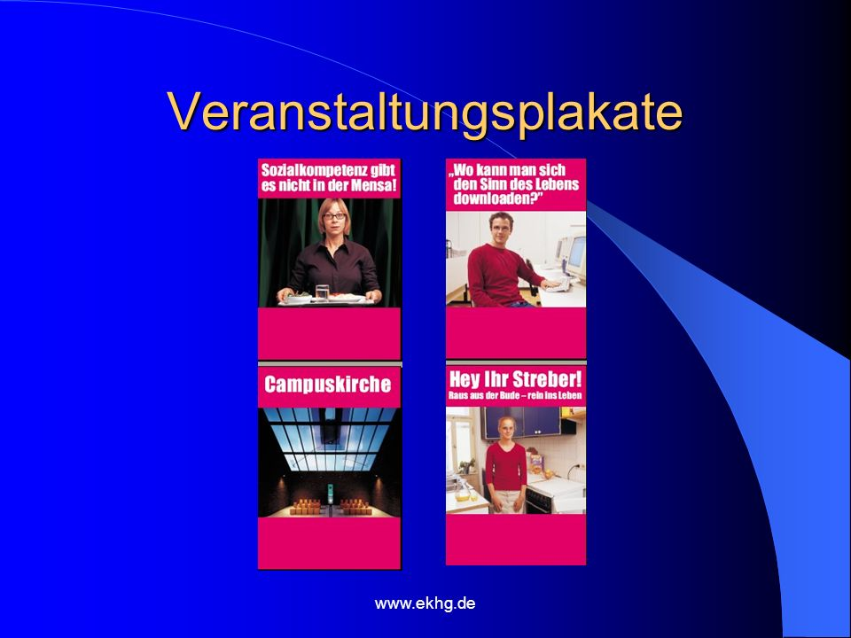 www.ekhg.de Veranstaltungsplakate