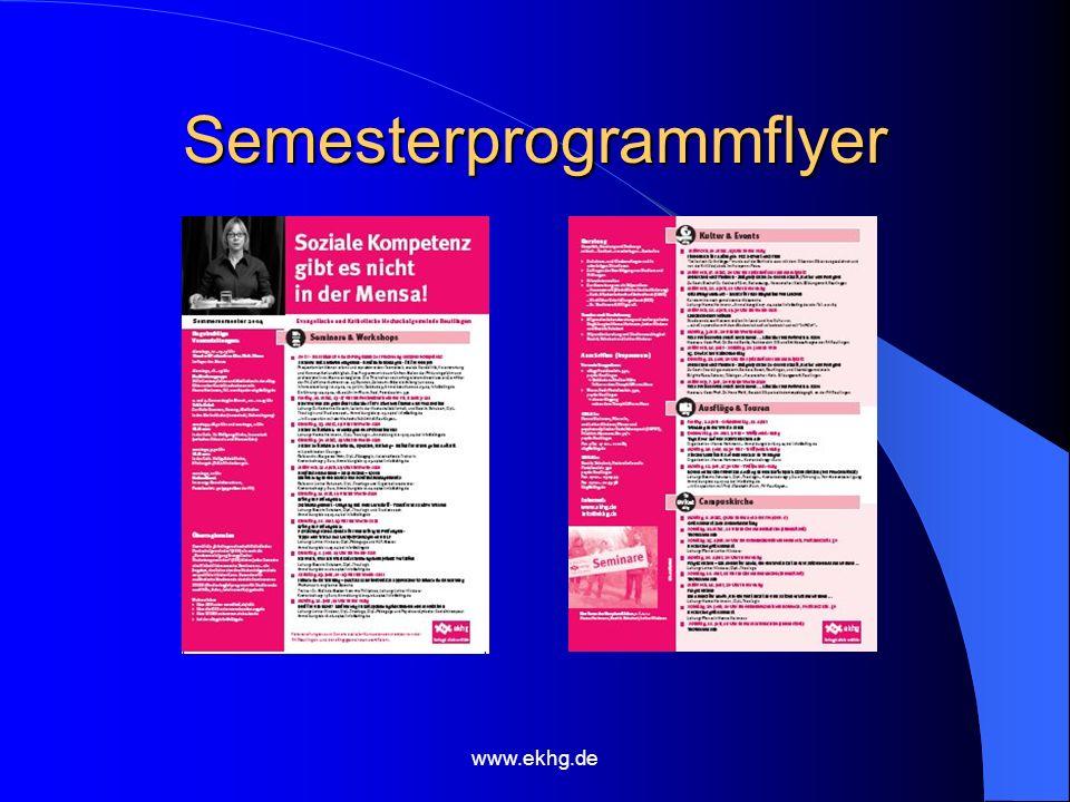 Semesterprogrammflyer