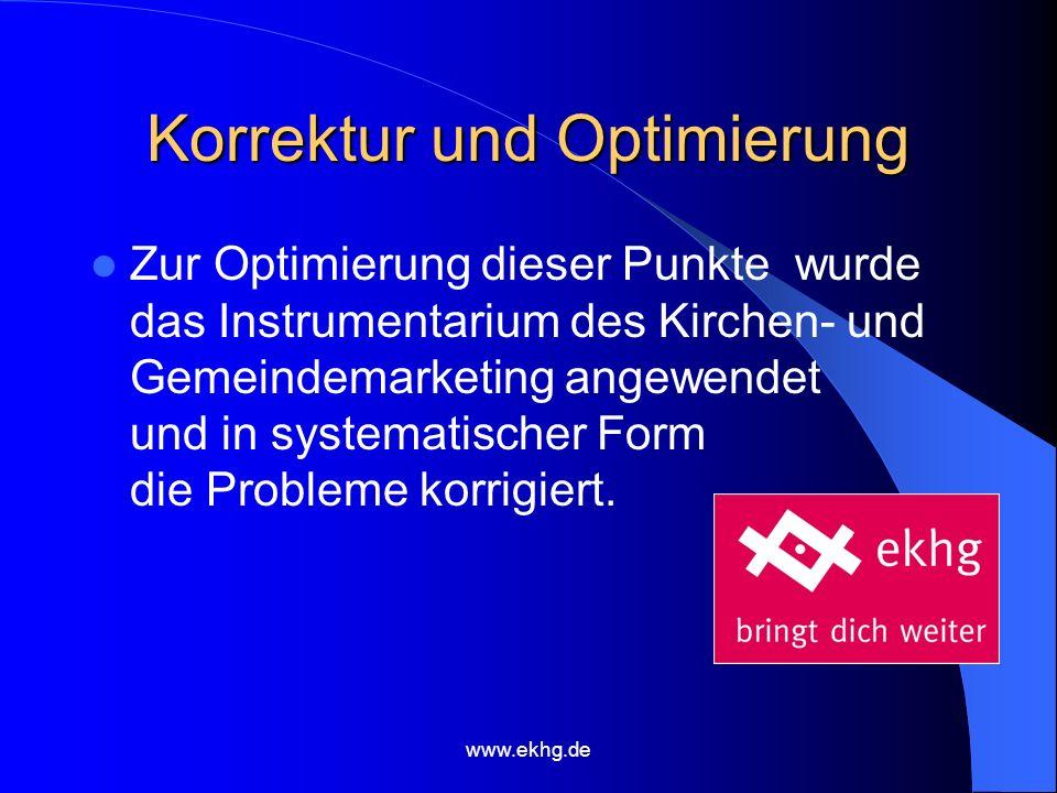 www.ekhg.de Flankierende Kommunikationsstruktur Die entsprechende Kommunikationsstrategie, die flankierend eingesetzt wird, geht mit den neuen Angeboten Hand in Hand und ermöglicht damit einen Auftritt nach Außen wie aus einem Guss.