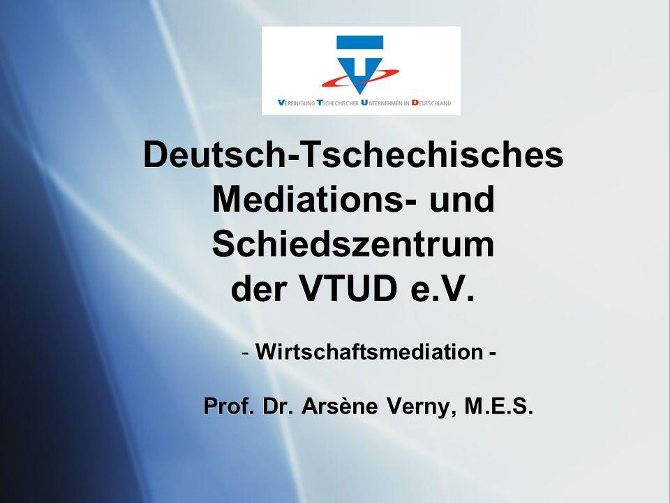 VTUD – Vereinigung tschechischer Unternehmen in Deutschland e.V.