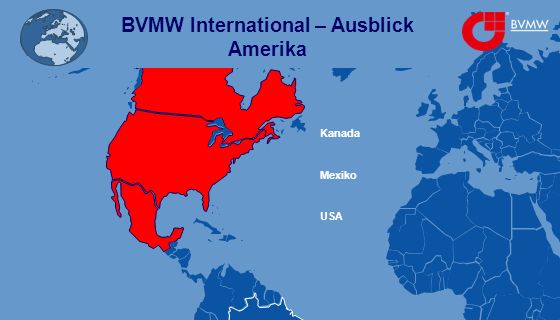 BVMW International – Ausblick Amerika Mexiko Kanada USA
