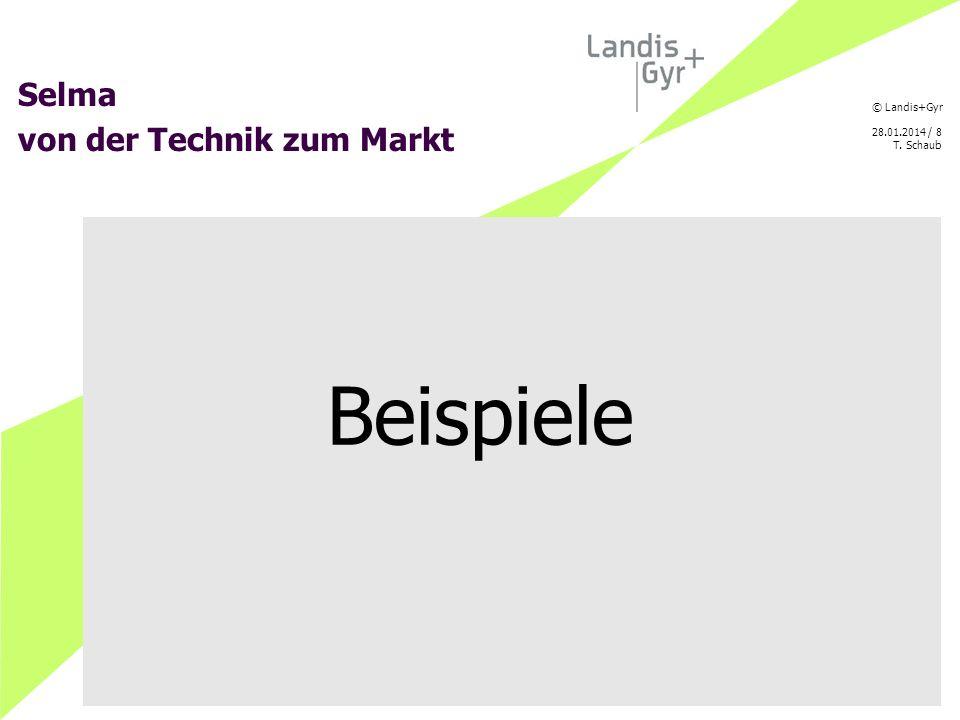 © Landis+Gyr 28.01.2014 / 9 T. Schaub Direct Trust