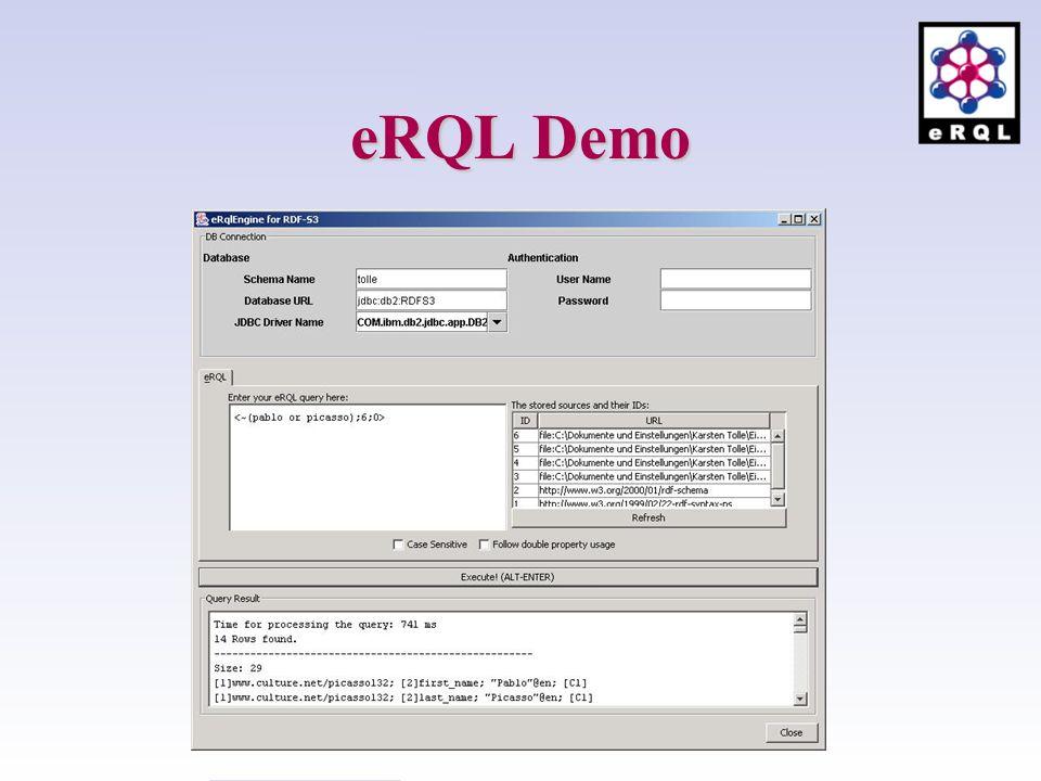 eRQL Demo