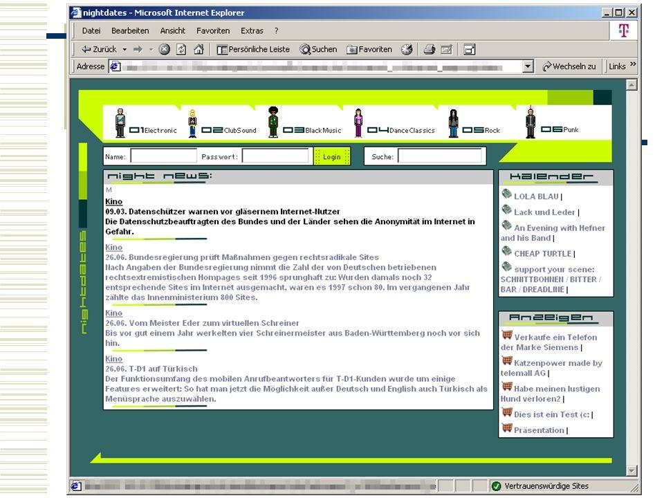 10. Mai 2001 XSL - Dokumente mit Stil86 XSL – Ein Beispiel