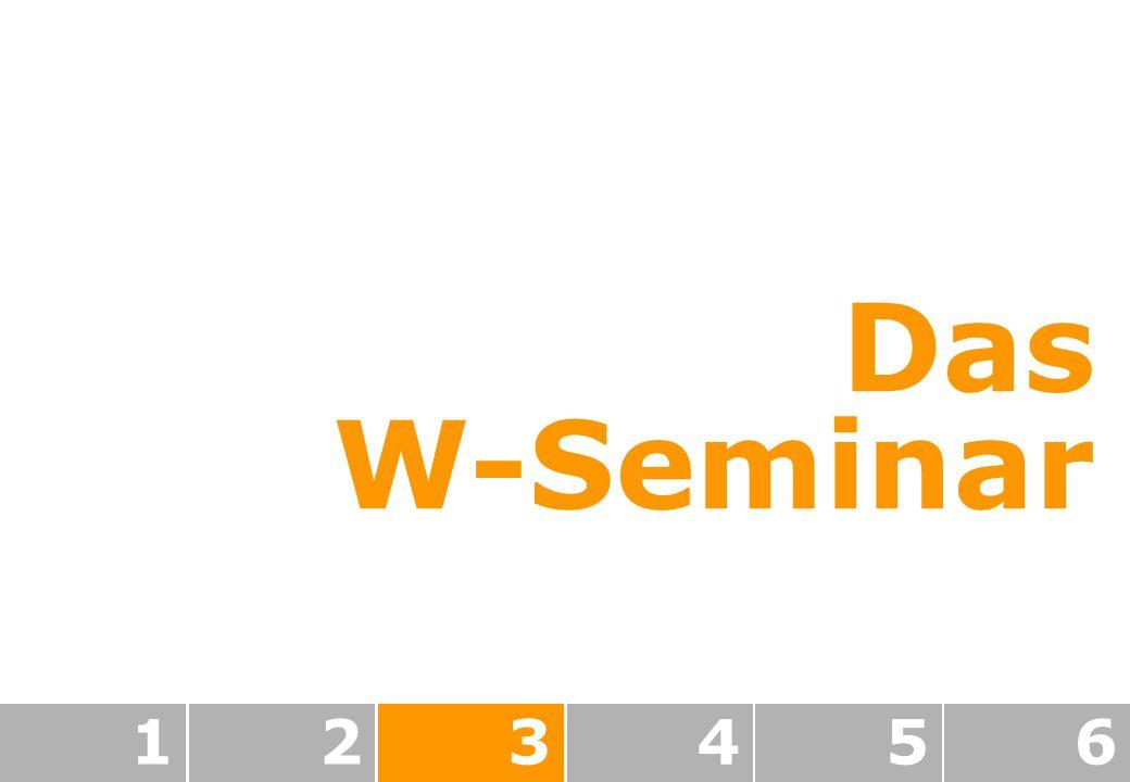 123456 Das W-Seminar