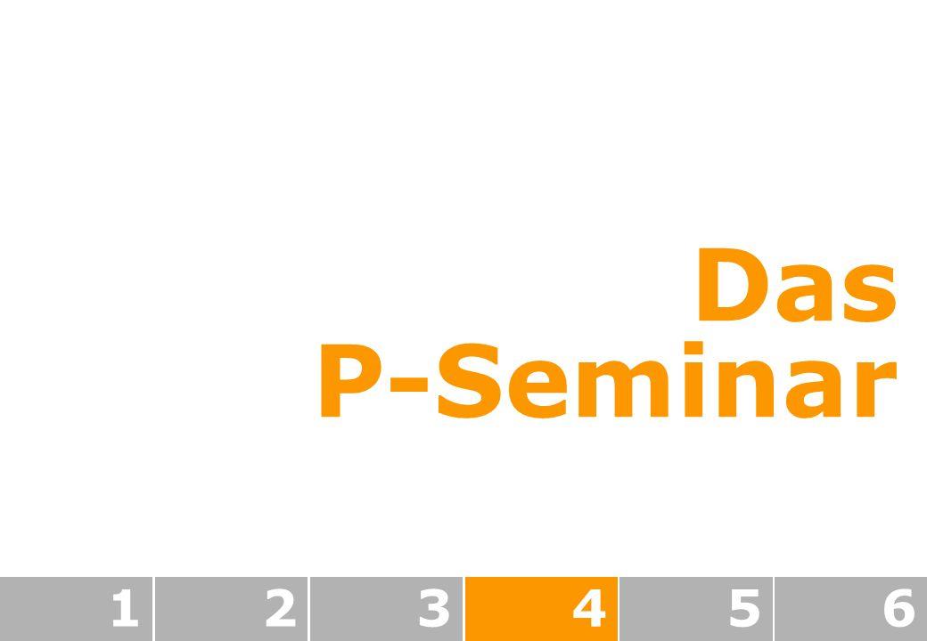 123456 Das P-Seminar