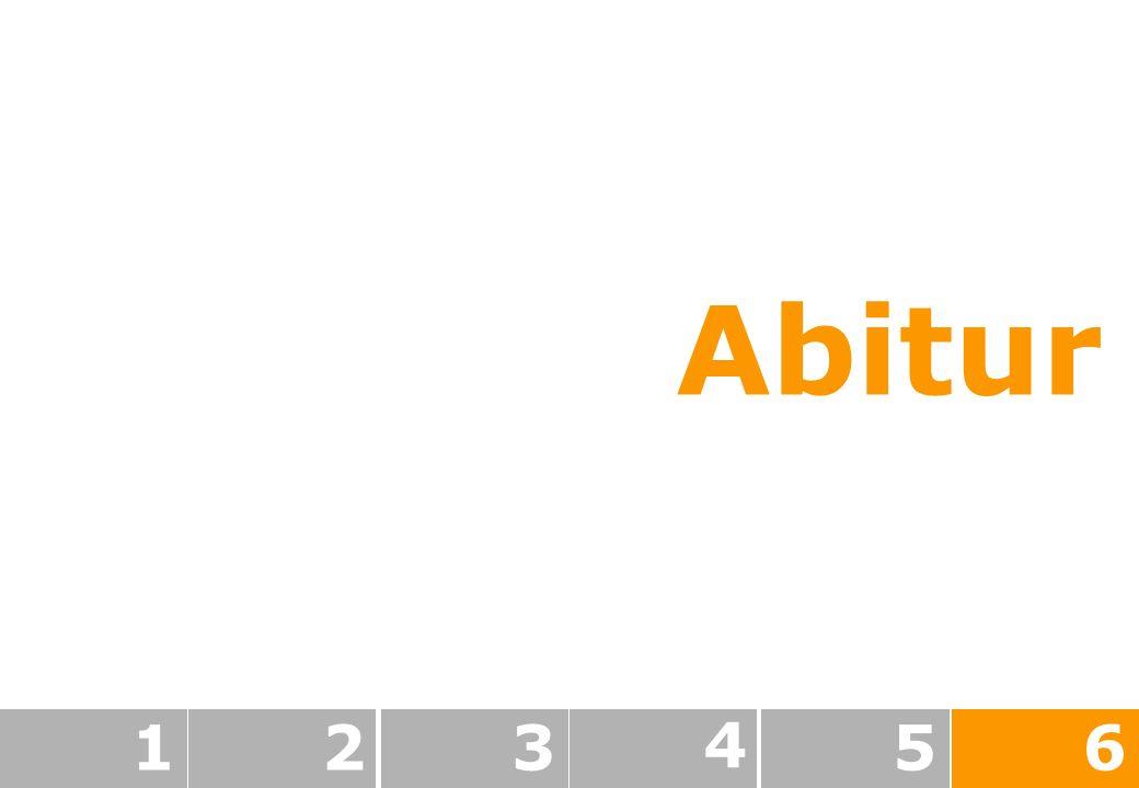 Abitur 123 4 56