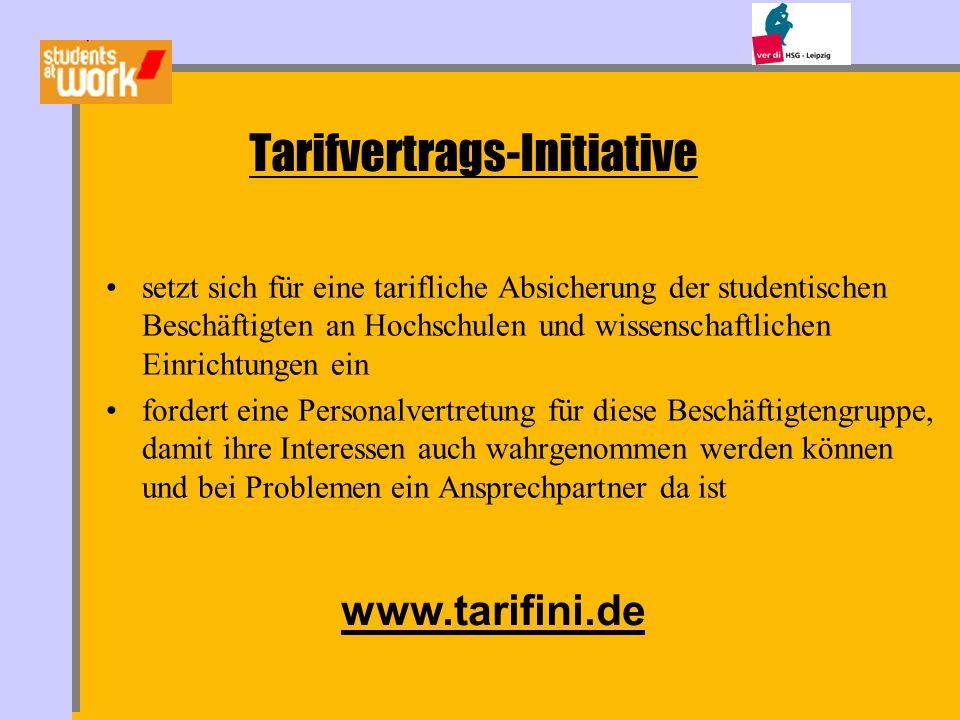 Tarifvertrags-Initiative setzt sich für eine tarifliche Absicherung der studentischen Beschäftigten an Hochschulen und wissenschaftlichen Einrichtunge