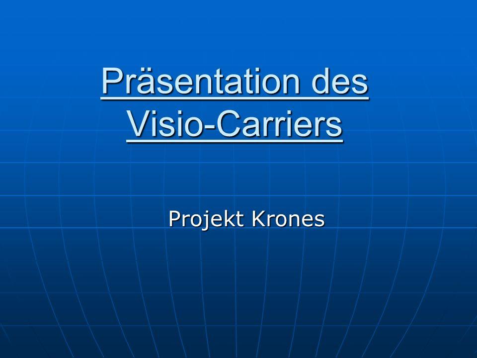 Präsentation des Visio-Carriers Projekt Krones