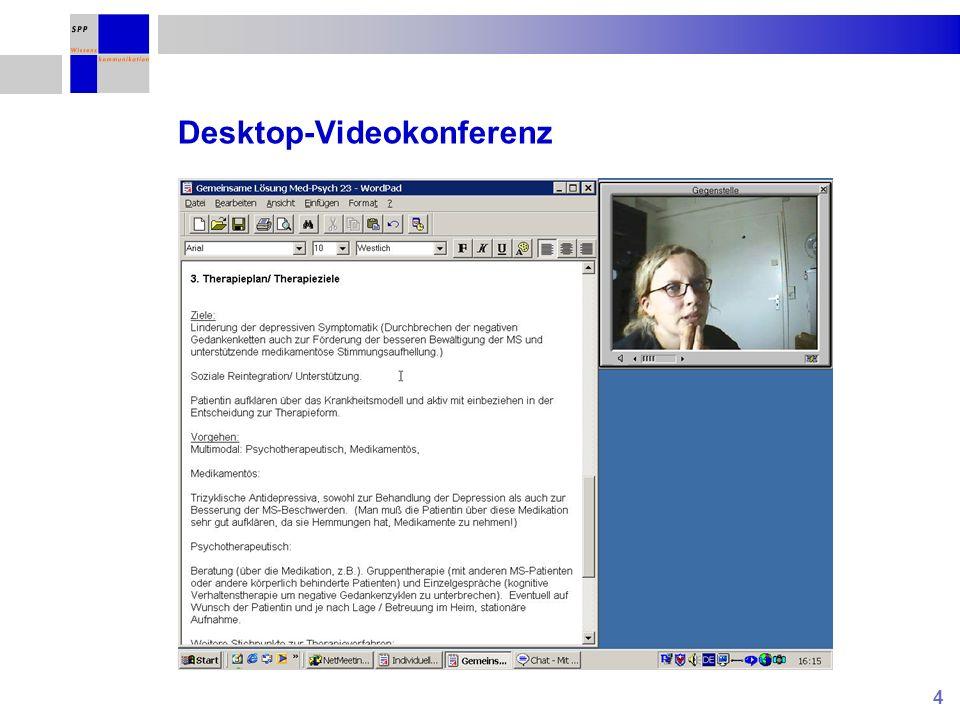 4 Desktop-Videokonferenz