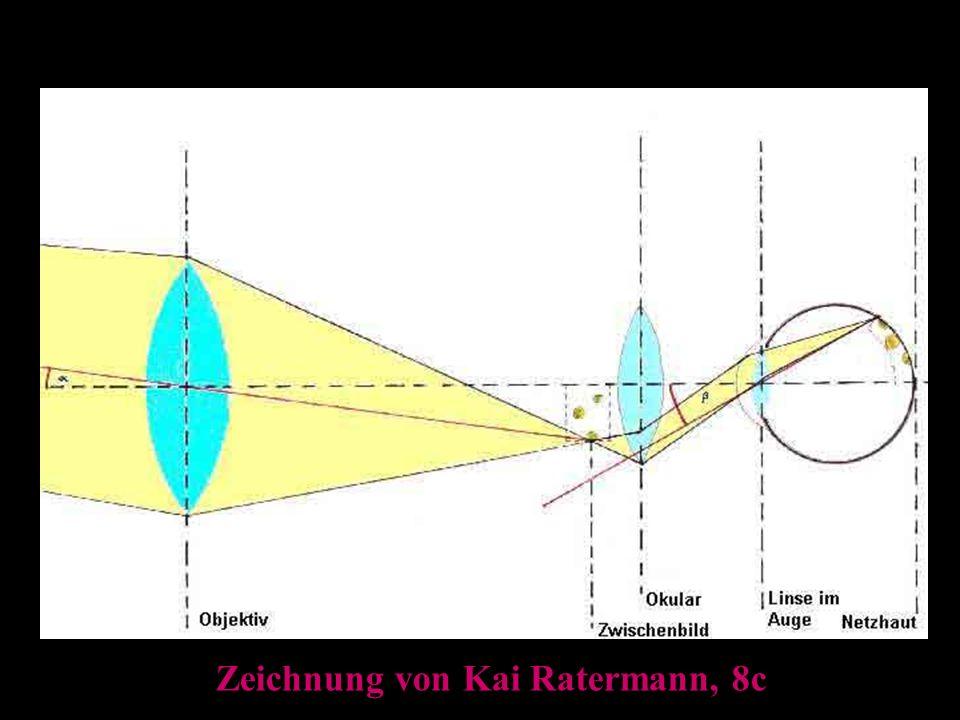 Das Fernrohr Zeichnung von Kai Ratermann, 8c