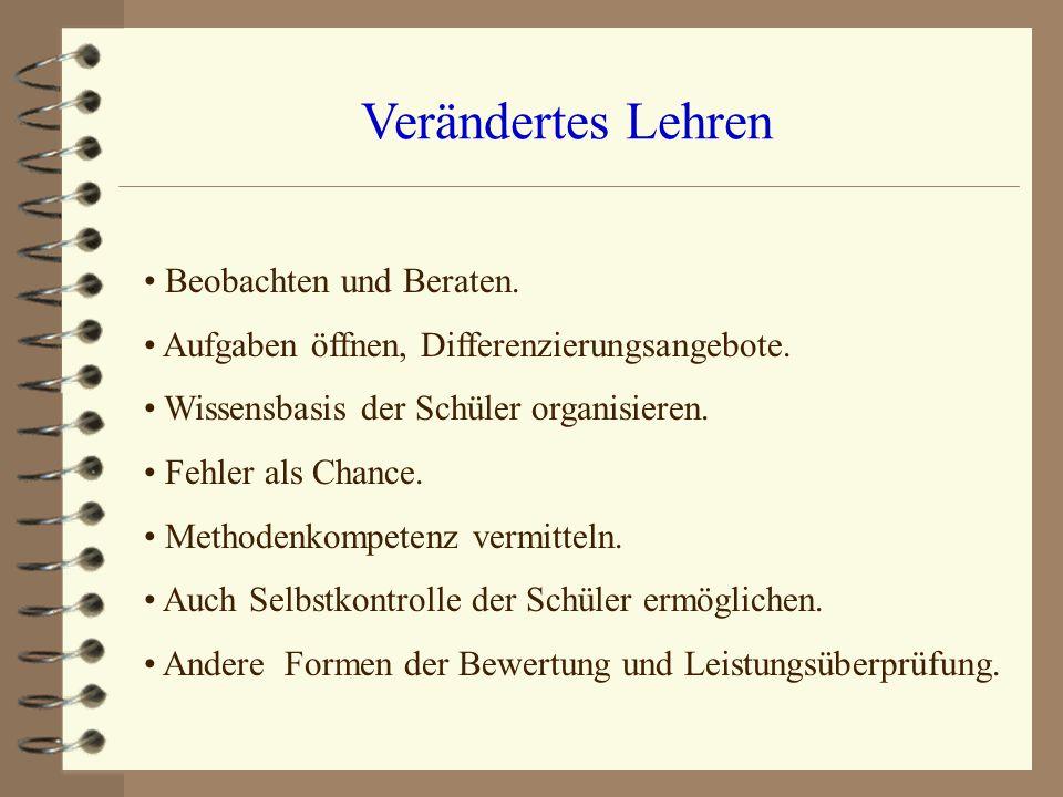 Beispiele Beispiele von Schüler-Arbeitsblättern Beispiele von Lehrer-Seiten.