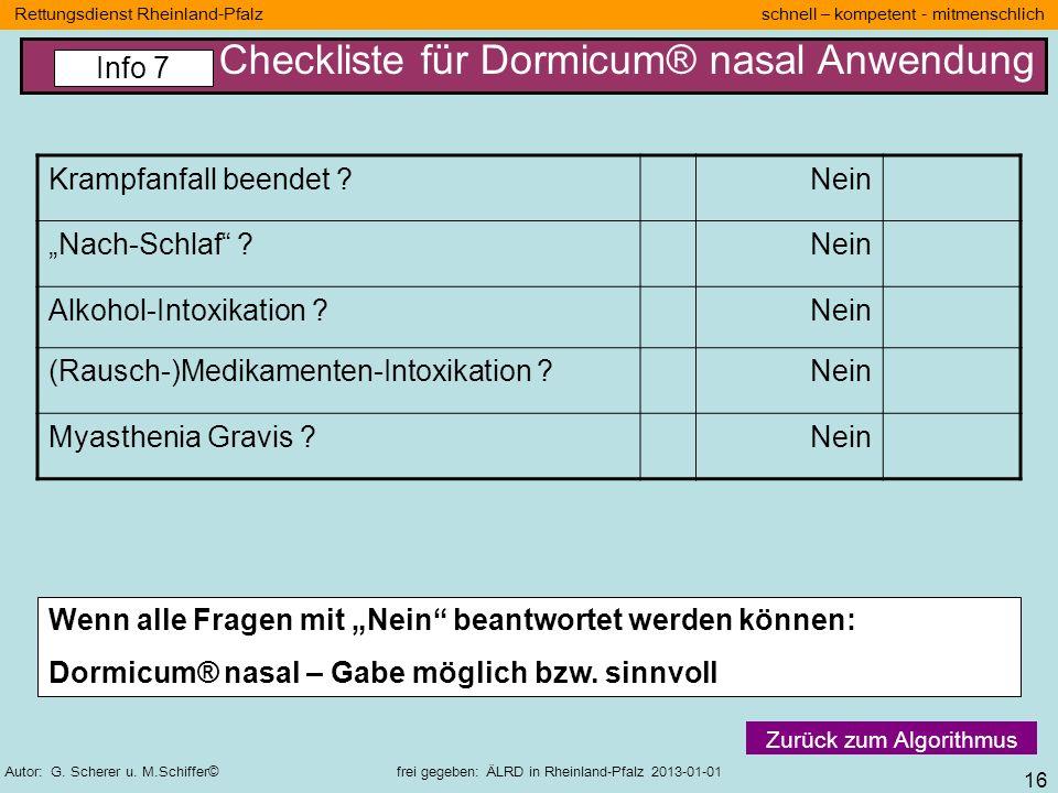 16 Rettungsdienst Rheinland-Pfalz schnell – kompetent - mitmenschlich Autor: G. Scherer u. M.Schiffer© frei gegeben: ÄLRD in Rheinland-Pfalz 2013-01-0
