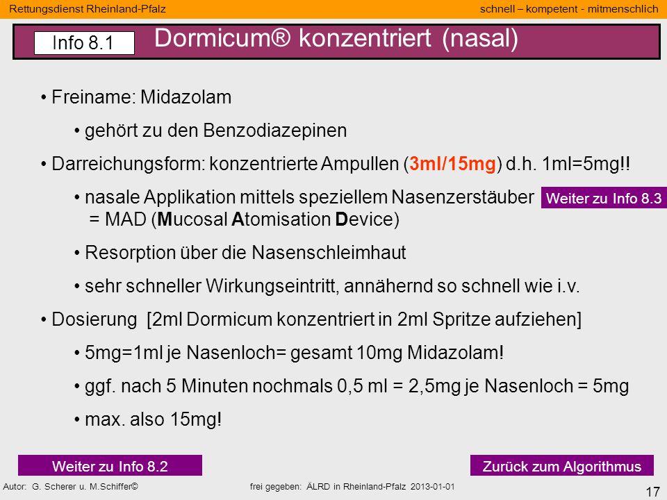 17 Rettungsdienst Rheinland-Pfalz schnell – kompetent - mitmenschlich Autor: G. Scherer u. M.Schiffer© frei gegeben: ÄLRD in Rheinland-Pfalz 2013-01-0