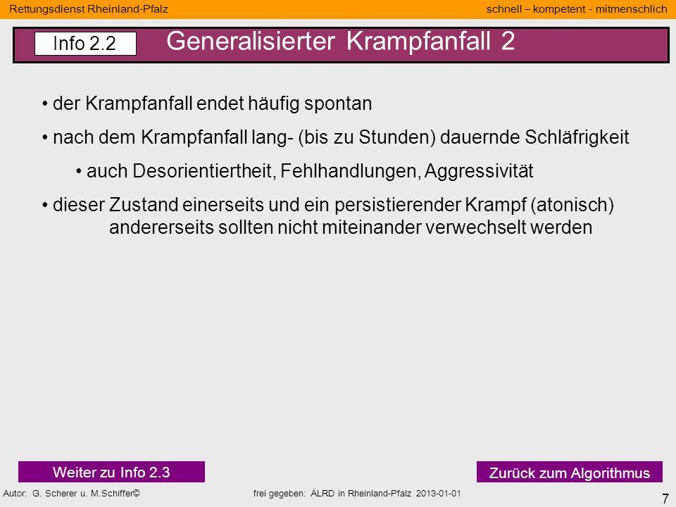 7 Rettungsdienst Rheinland-Pfalz schnell – kompetent - mitmenschlich Autor: G. Scherer u. M.Schiffer© frei gegeben: ÄLRD in Rheinland-Pfalz 2013-01-01
