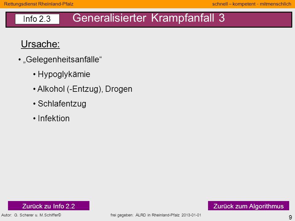 20 Rettungsdienst Rheinland-Pfalz schnell – kompetent - mitmenschlich Autor: G.