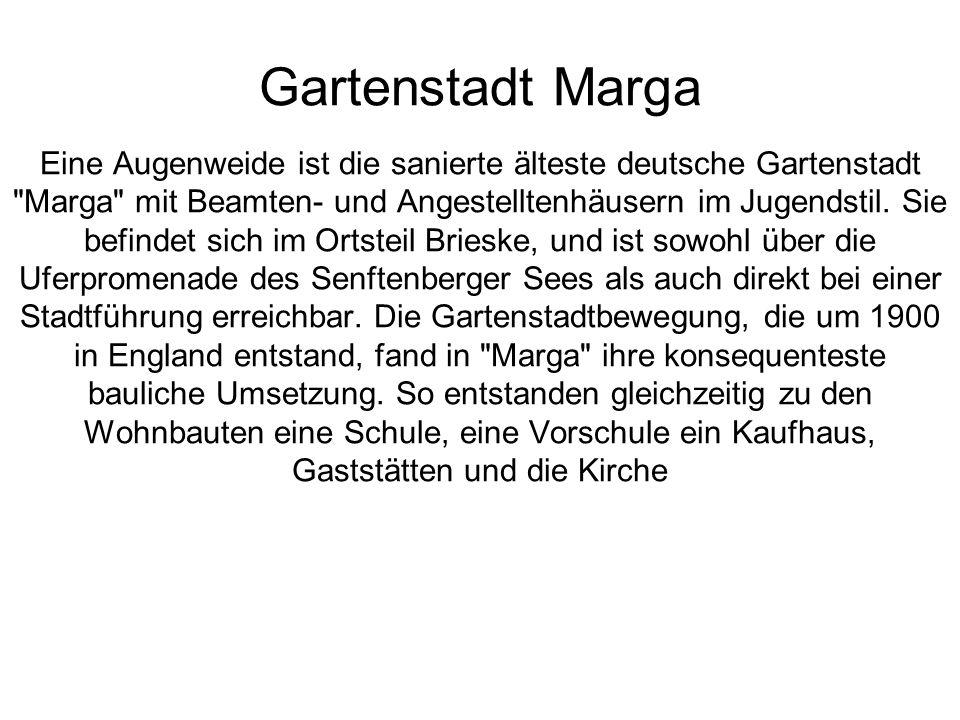 Gartenstadt Marga Eine Augenweide ist die sanierte älteste deutsche Gartenstadt