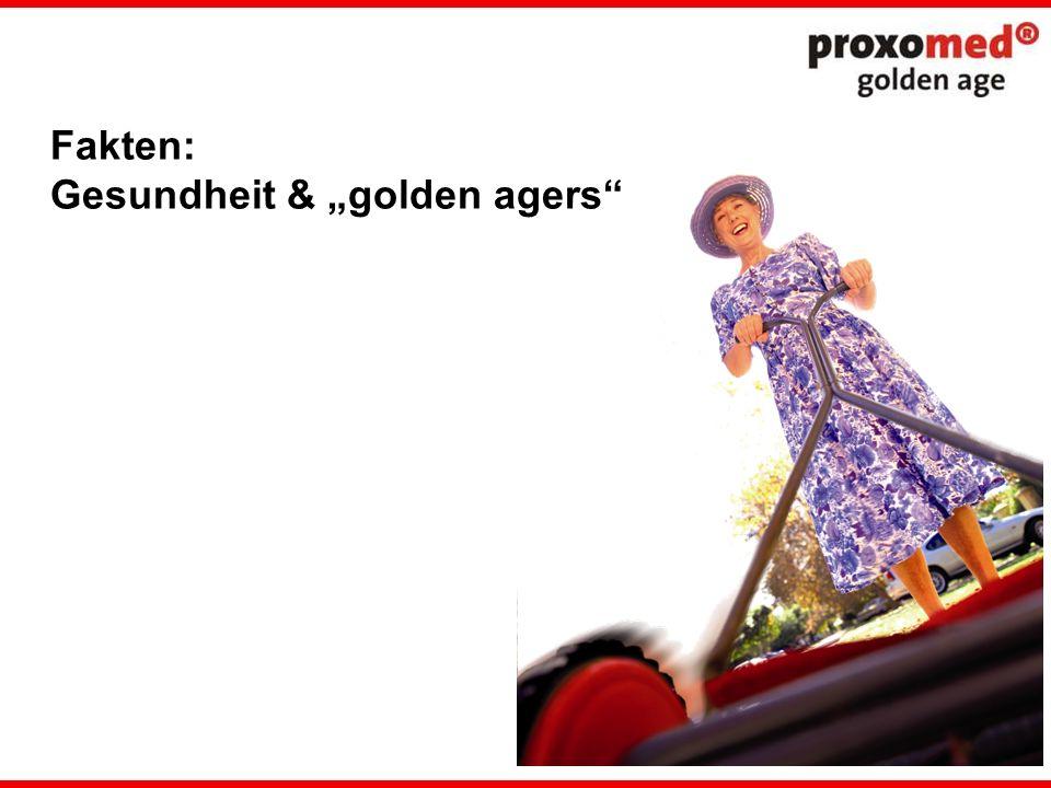 Fakten: Gesundheit & golden agers